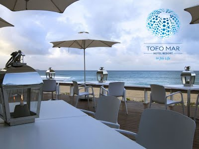 Beachfront Restaurant at Hotel Tofo Mar, Tofo Beach